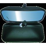 AFŠ UNIVERSALUS (šildomas 12-24V) Pusiau sferinis veidrodis 410x215 mm