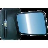 AA UNIVERSALUS (nešildomas) pusiau sferinis veidrodis 280x185 mm