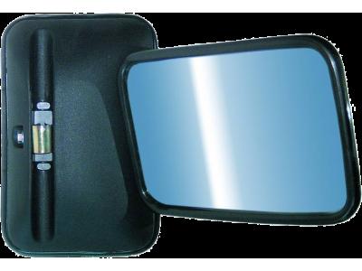 AAŠ UNIVERSALUS (šildomas 12-24V) pusiau sferinis veidrodis 280x185 mm
