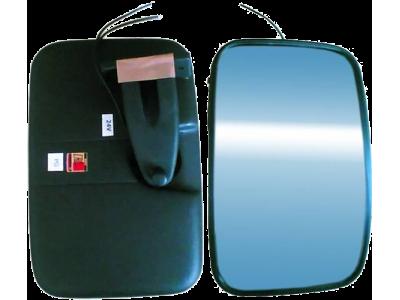 A – 3 UNIVERSALUS (nešildomas) panoraminis veidrodis 240x165 mm