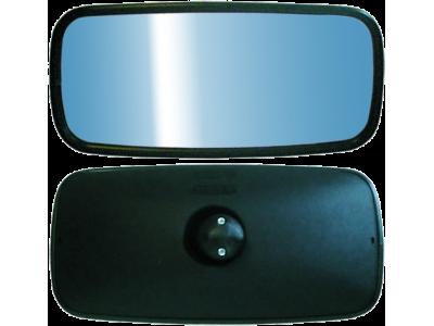 A – 8Š UNIVERSALUS (šildomas 12-24v ) pusiau sferinis veidrodis 355x175 mm
