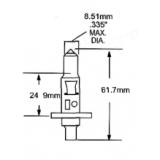 Halogeninė lemputė H1 12V 55 (1111) Germany