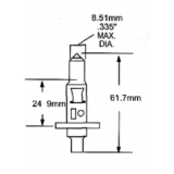 Halogeninė lemputė H11210