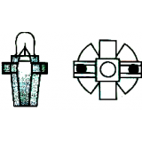 Lemputė prietaisų skydelio su plastmasiniu cokoliu MF6 (T5 B8.7D)