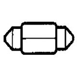 Lemputė salono SV7; 8X28 mm
