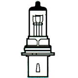 Halogeninė lemputė 9004 P29T HB1 12V 65/45W