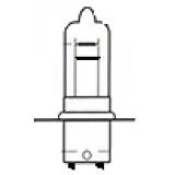 Lemputė dviejų kontaktų T19 12V 35/35W(cokolis P15G-1)