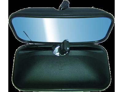 AF UNIVERSALUS (nešildomas) pusiau sferinis veidrodis 410x215 mm
